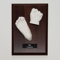 Size 2 Display Plinth - For Couples Hands & Older Babies - 7x5''