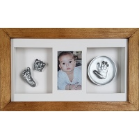 Deep 18x10'' Triple Cottage Oak Frame