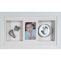 Deep 18x10'' Triple White Frame