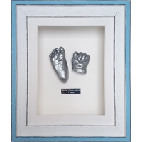 Coastal 10x8'' Single Blue Frame