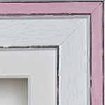 Coastal 10x8'' Double Pink Frame