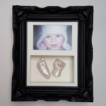 Luxury Vintage 10x8'' Double Black Frame