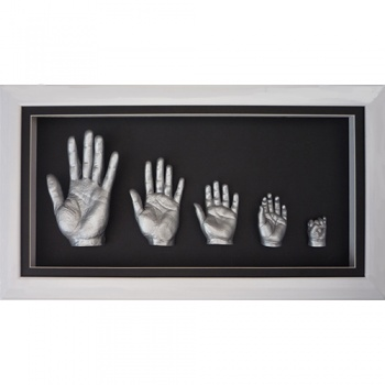 Deep 26x13'' White Family Frame