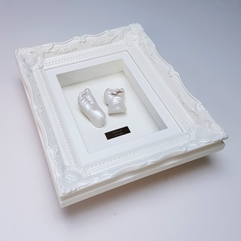 Luxury Vintage 10x8'' Single Frame Baby Casting Kit